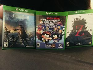 Xbox one games for Sale in Fresno, CA