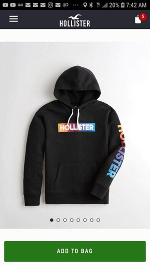 New Mens Hollister Icon Hoodie for Sale in Salinas, CA