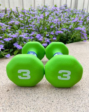 ‼️ BRAND NEW / BEST QUALITY 3lb Neoprene Dumbbells (Pair) - Workout Weights for Sale in San Diego, CA