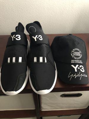 Y-3 Suberou Stretch Sneakers 11 1/2(hat included) for Sale in West Palm Beach, FL