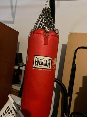Everlast punching bag for Sale in Joliet, IL