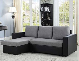 Reversible Sleeper Sevtional In Special Offer In Rivera Future Furniture for Sale in Davenport,  FL