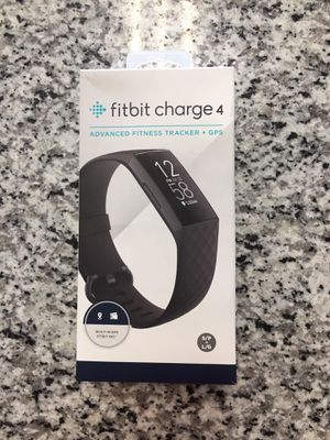 Fitbit Charge 4 Fitness Activity Tracker - Built-In GPS, Touchscreen, Swim Proof #16018-1 for Sale in Boston, MA