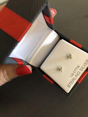 Genuine diamond earrings studs for Sale in Washington, DC