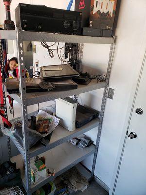 5 shelf storage rack for Sale in Visalia, CA