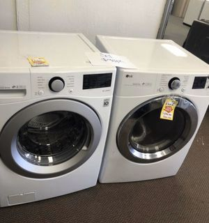 LG washer dryer set new with warranty! 👍🙏👌😃 for Sale in Redondo Beach, CA