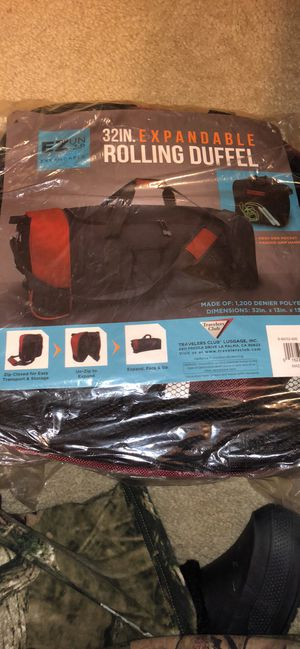 Expandable duffle bag for Sale in Mount Airy, MD