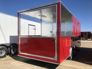 Bbq porch concession trailer w open porch 8.5x20 for Sale in DeSoto, TX