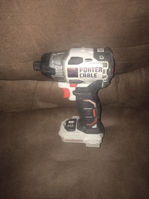 Porter cable brushless impact drill (tool only) for Sale in Clayton, NC