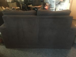 Two brown couch set. Loveseat and Full length. Couch for Sale in Portland, OR