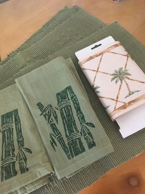 Bamboo dining room decor for Sale in Kailua, HI