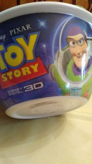 2009 Toy Story Disney Kellogg's collective cereal bowl for Sale in Houston, TX