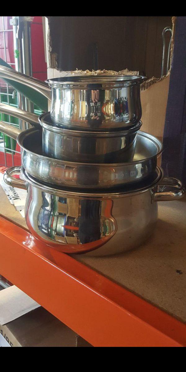 Brand New Pots & Pans Sets - Juego de Joyas Nuevo