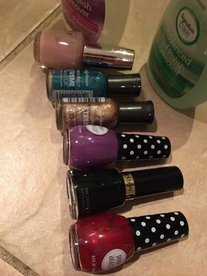 Nail polishes and Removers for Sale in Sterling, VA
