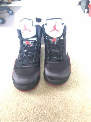 Size 13 Air Jordan 5 Satin Bred for Sale in Leesburg, VA