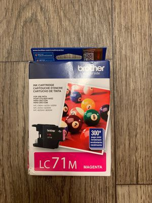 Brother LC71M printer cartridge Magenta for Sale in Monterey, CA