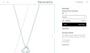 Tiffany & Co. Necklace for Sale in Fresno, CA