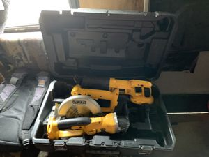 3 DEWALT 18 V tool set with case / No Batteries or Chargers f for Sale in Obetz, OH