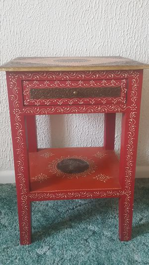 Hand painted stand for Sale in Colfax, WV