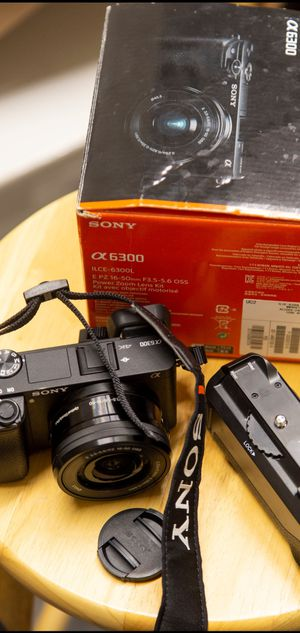 Sony Alpha A6300 Mirrorless Camera for Sale in Seattle, WA