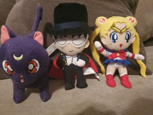 Sailor Moon Plushies Bundle for Sale in San Antonio, TX