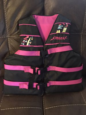 Stearns life jacket for kids size 50-90 lbs for Sale in Mukilteo, WA