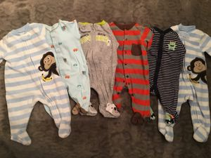 6 Newborn Onesies,Romper,Jumpsuits !!! for Sale in Los Angeles, CA