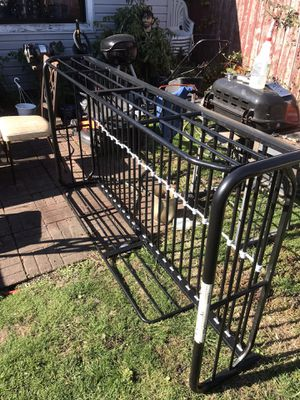 Twin size bed frame steel for Sale in Chicago, IL