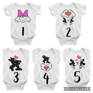 Baby Bodysuits/Onesies Mickie & Minnie for Sale in New Port Richey, FL
