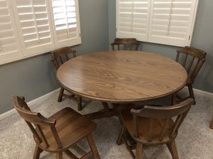 Solid wood Game height table for Sale in Chandler, AZ