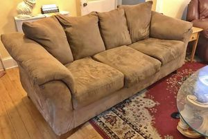 Beige sofa- FREE DELIVERY for Sale in Upper Darby, PA