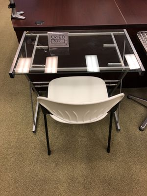 Glass desk office furniture for Sale in San Diego, CA