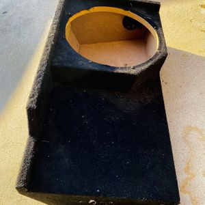 1 - 12 Sub Box For A 88-98 Chevy Ext Cab Under seat Box for Sale in Sanger, CA