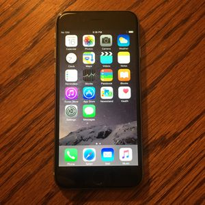 iPhone 6 AT&T, T mobile, Cricket 16Gb iCloud cleared clean imei for Sale in Fresno, CA