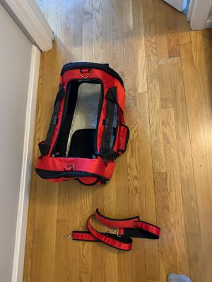 Pet gear carrier with wheels and carrying strap. for Sale in Malden, MA