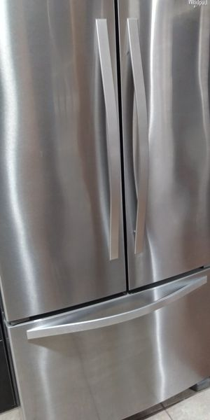 $650.00 or Best Offer. Whirlpool Stainless Steel French Door Refrigerator for Sale in Arlington, VA