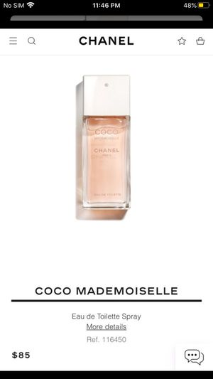 Chanel mademoiselle perfume 1.7 oz for Sale in La Puente, CA