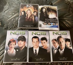 AMAZING DVD COLLECTION ALL NEW BUFFY THE VAMPIRE HAS 6 DVDS & ATLANTIS HAS 5 PLUS 3 CSI TAKE ALL FOR $5 PICK UP FROM LYNWOOD for Sale in Lynwood, CA