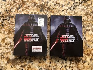 Star Wars 1-6 Blu-Ray + Bonus for Sale in Arlington, VA