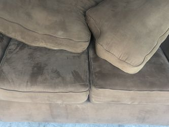 Brown Microfiber Sofa Couch & Loveseat for Sale in Hialeah,  FL