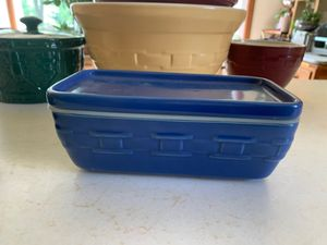 Longaberger Blue Storage Container for Sale in Norfolk, VA