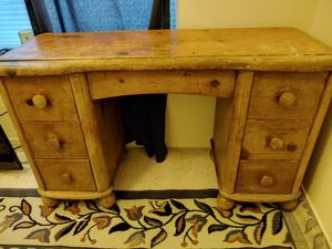 Vintage handmade writing/ study desk for Sale in Bend, OR
