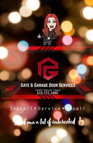 Gates & Garage Door Services 🎉 for Sale in San Diego, CA