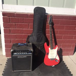 Electric Guitar And Amp - Silvertone for Sale in Sacramento, CA