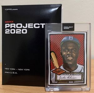 Topps Jackie Robinson - Joshua Vides Topps2020 - New Sports for Sale in Dallas, TX