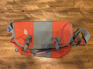 Timbuk2 Classic Messenger Bag red/grey for Sale in Silver Spring, MD