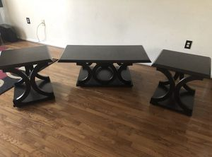 3 set Coffee Table (Dark Brown) for Sale in Sudley Springs, VA