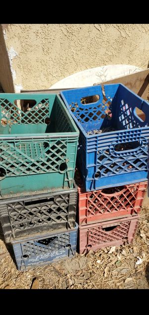 Milk crates for Sale in Fontana, CA