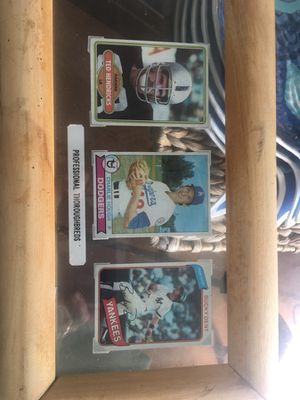 old Collectible baseball cards for Sale in Lake Wales, FL