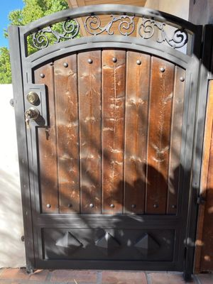 I made customs gates, Fences for Sale in Corona, CA